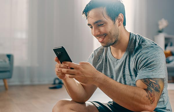 kapsport-webcoaching sur smartphone